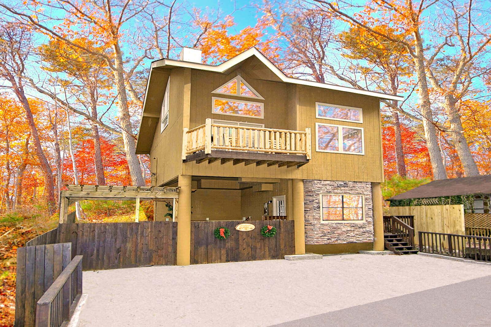 Downtown gatlinburg 1 bedroom cabin on a creek elk springs for Cabins near downtown gatlinburg