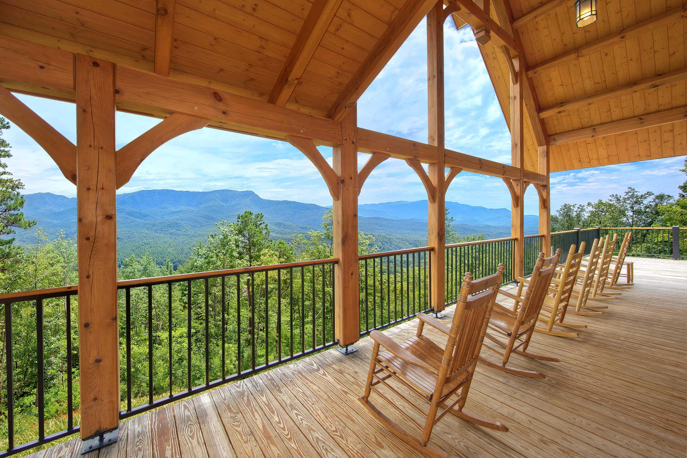 Amazing Views Retreat cabin in Gatlinburg | Elk Springs Resort
