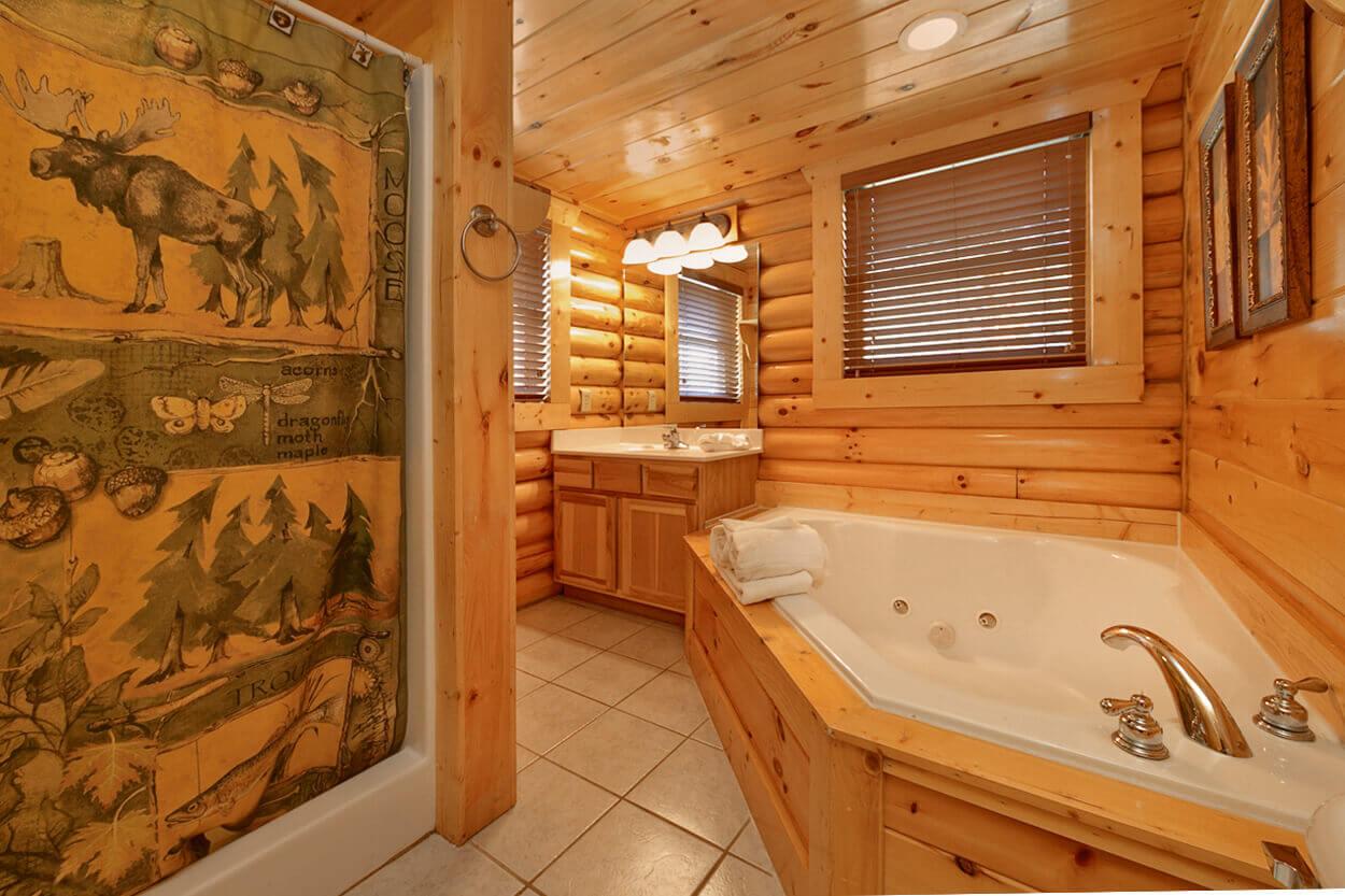 Blackjack gatlinburg vacation rental cabin 3 bedroom 3 - Gatlinburg 3 bedroom condo rentals ...