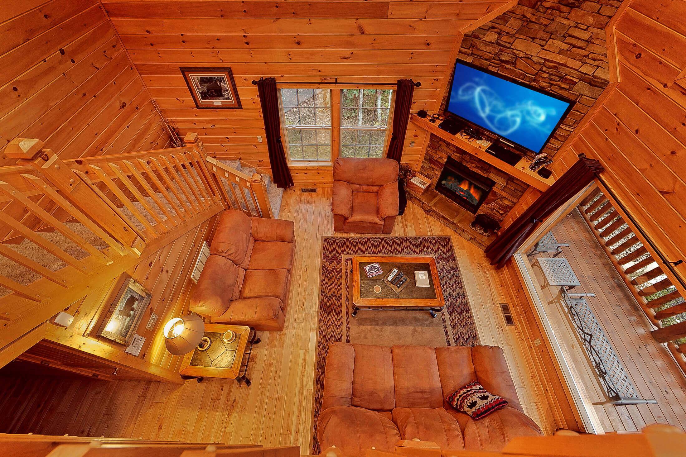 Cozy bear ridge a gatlinburg luxury cabin rental elk for Little bear cabin in gatlinburg tn