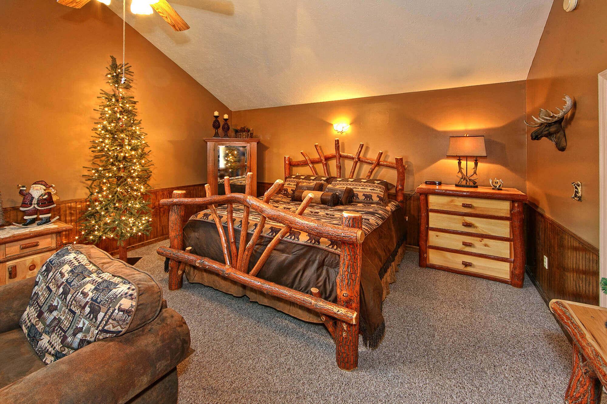 Downtown Gatlinburg 1 Bedroom Cabin On A Creek Elk Springs Resort