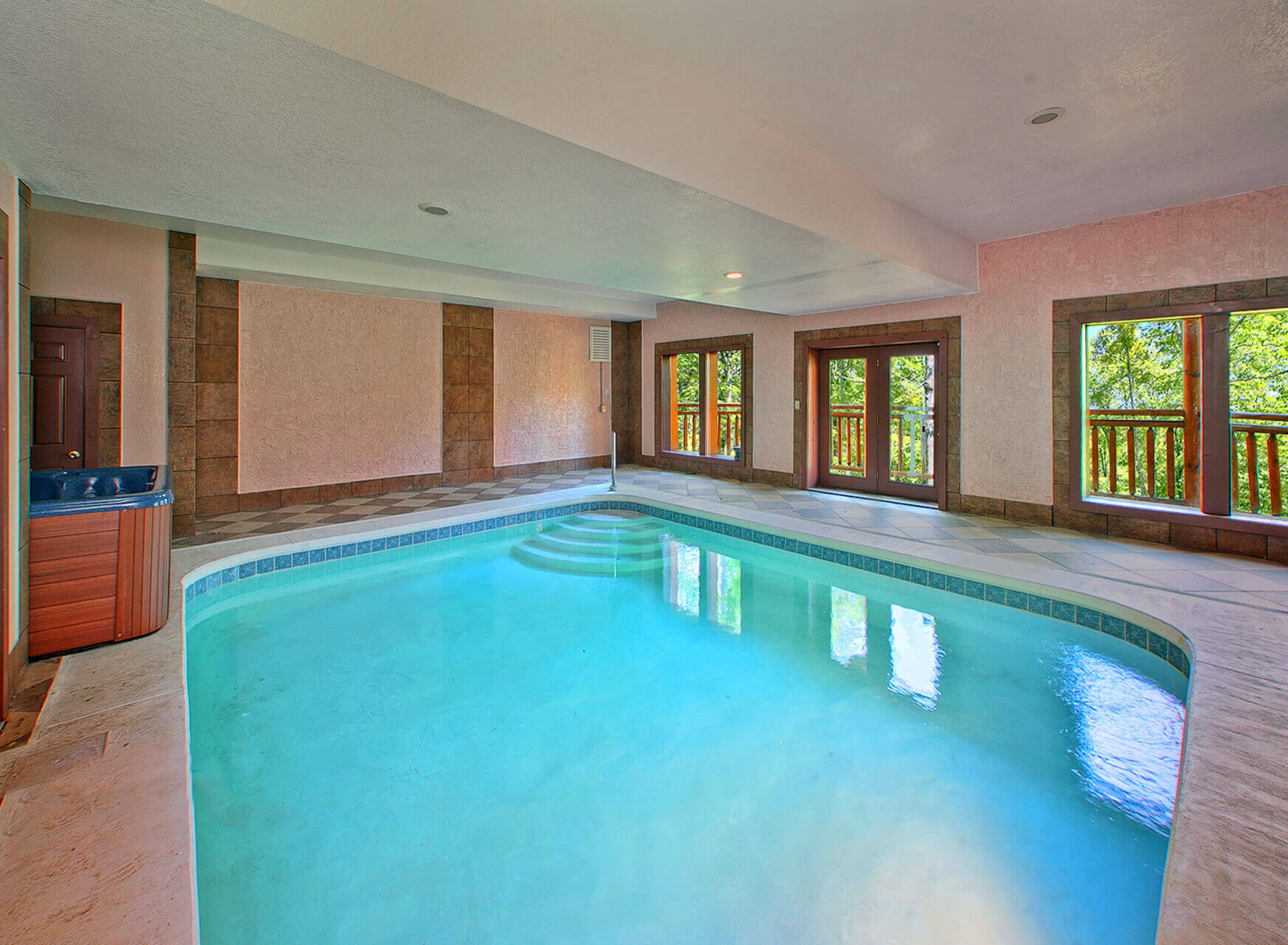 indoor pool beauty - Big Houses With Swimming Pools Inside