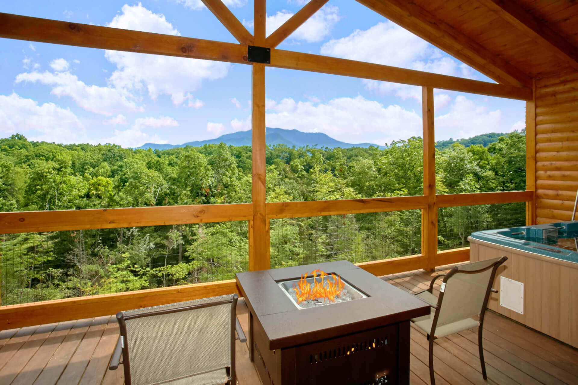 sale tn owner log near blue new ga cas gatlinburg jacksonville by in ridge florida homes cabins clermont for
