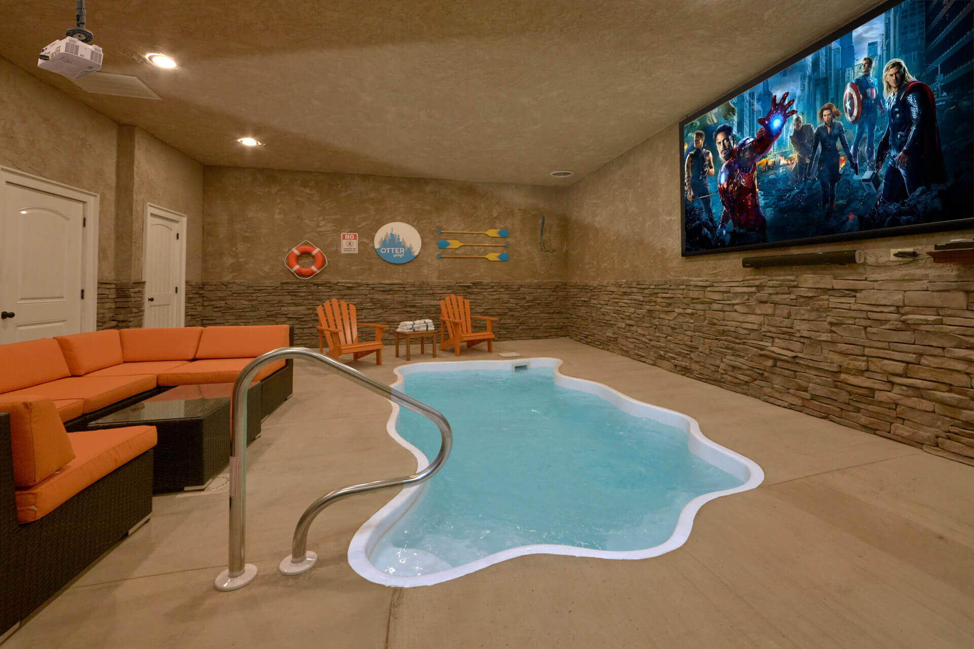 Tremendous Gatlinburg Cabins With Indoor Pools For Rent Elk Springs Interior Design Ideas Gentotthenellocom