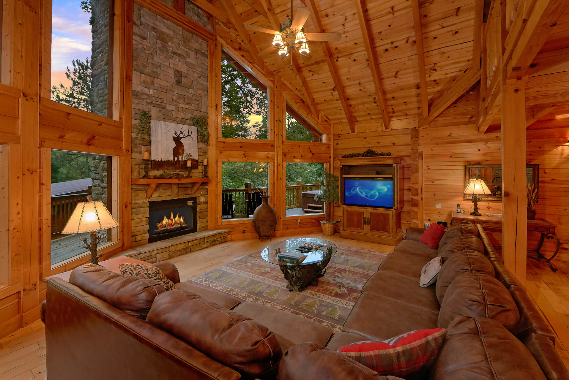 Silvercreek cabin in gatlinburg elk springs resort - 1 bedroom cabin in gatlinburg tn ...