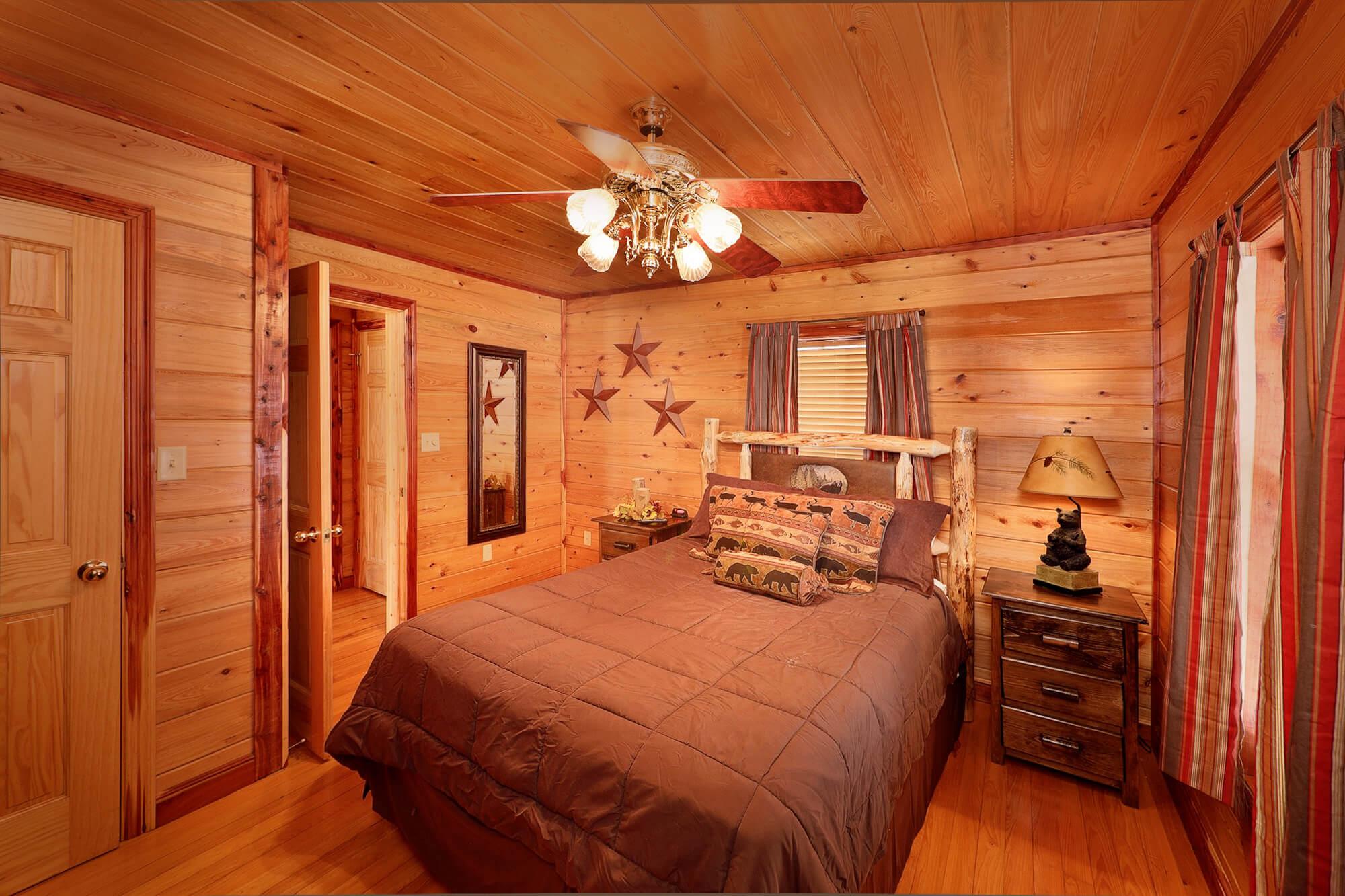 smoky mountain romance 1 bedroom secluded private cabin rental elk springs resort. Black Bedroom Furniture Sets. Home Design Ideas