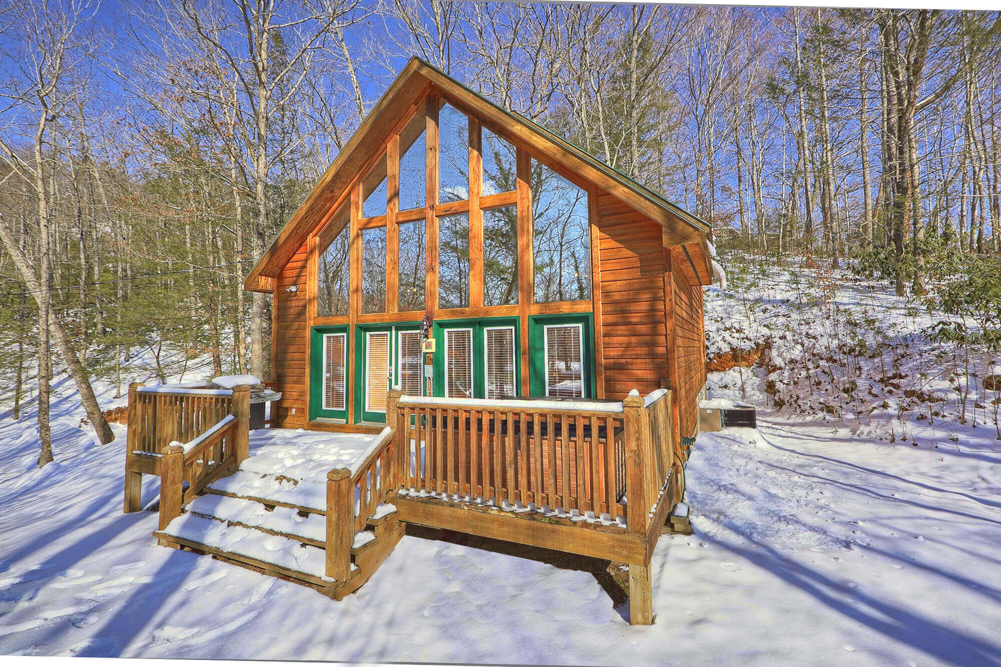 Smoky mountain romance 1 bedroom secluded private cabin for Smoky mountain nc cabin rentals