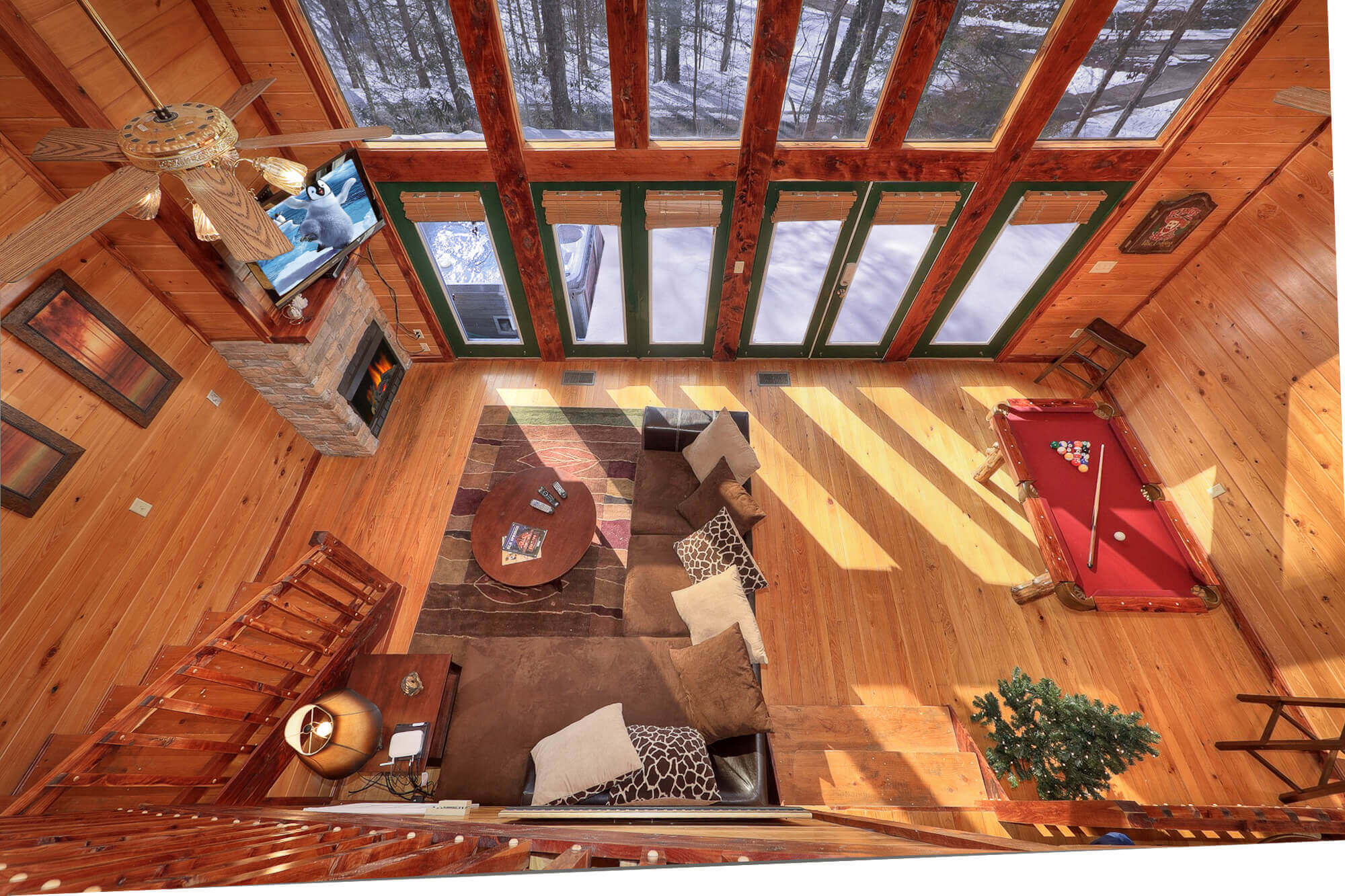 cabins cabin campgrounds koa great mountains the detail cherokee smoky foothills rentals set of in