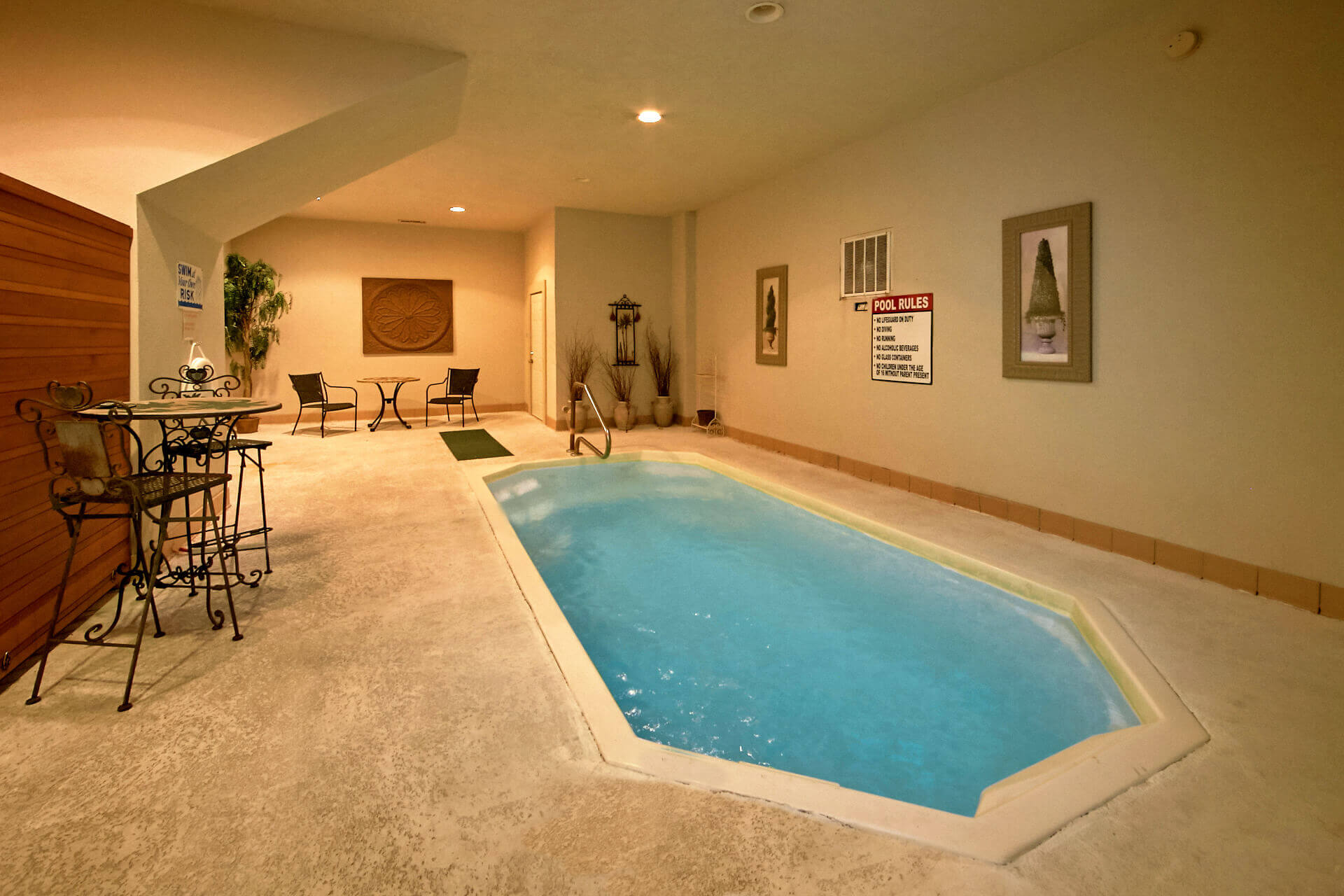 romantic gatlinburg spa modern with in cabins pool indoor cabin vrbo