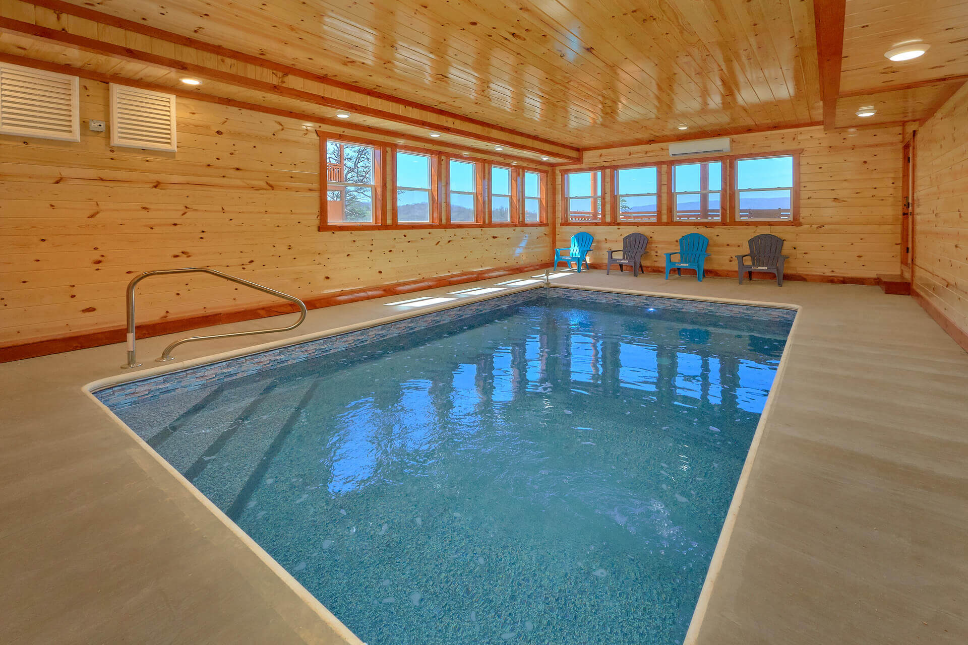 The Ultimate Indoor Pool Cabin