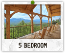 5 Bedroom Cabins in Gatlinburg