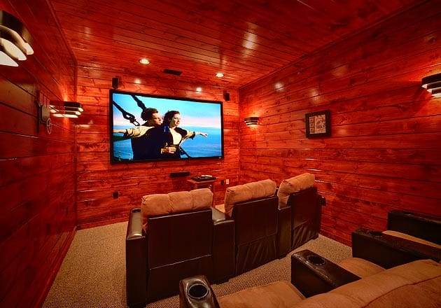 home theater room cabins