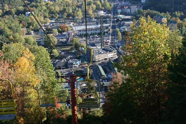 Sky Lift in Gatlinburg