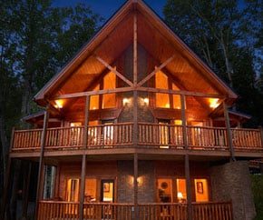 view a video tour of Gatlinburg Cabin Rentals