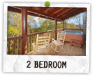 2 Bedroom Cabins in Gatlinburg