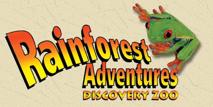 Rainforest Adventures Discovery Zoo in Gatlinburg
