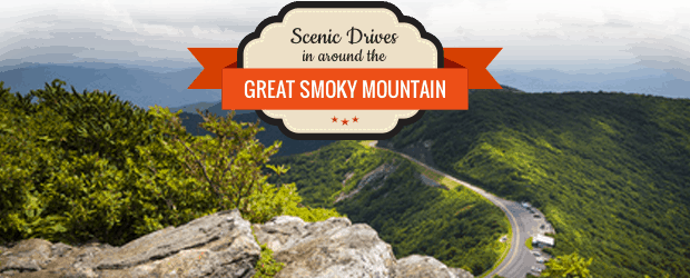 Scenic Drives in around the Great Smoky Mountains