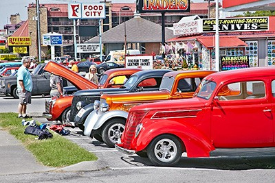 Spring Rod Run in Pigeon Forge