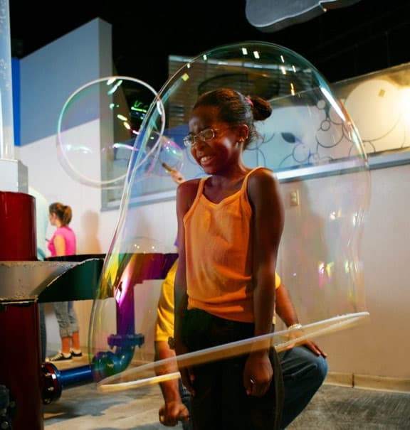 WonderWorks Bubble Room in Gatlinburg