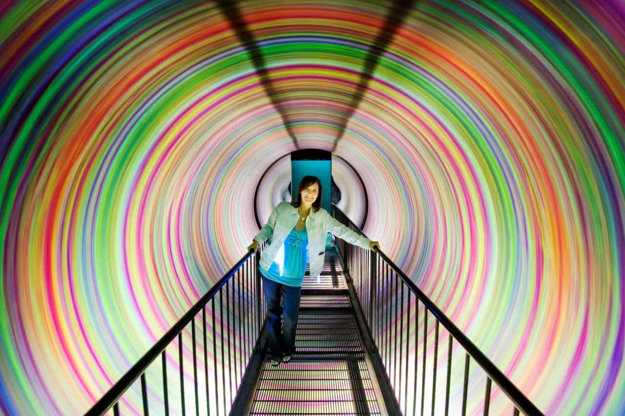 WonderWorks Inversion Tunnel in Gatlinburg