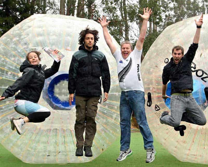 Zorb in Gatlinburg
