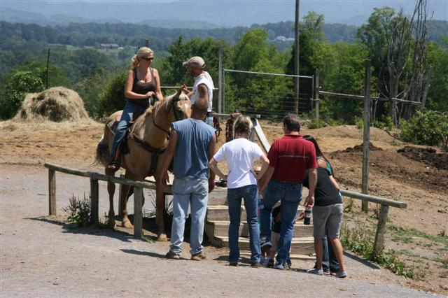 Deer Farm Horseback Riding