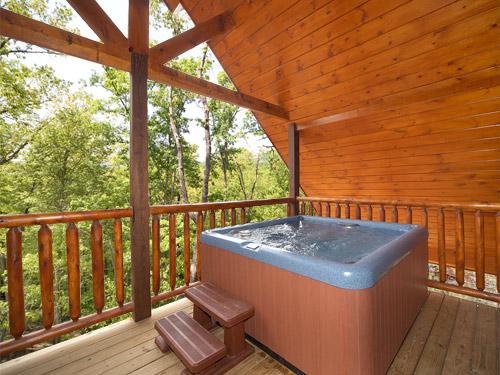 Gatlinburg Cabin Hot Tub