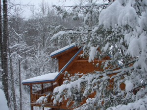 Gatlinburg Cabin in Winter