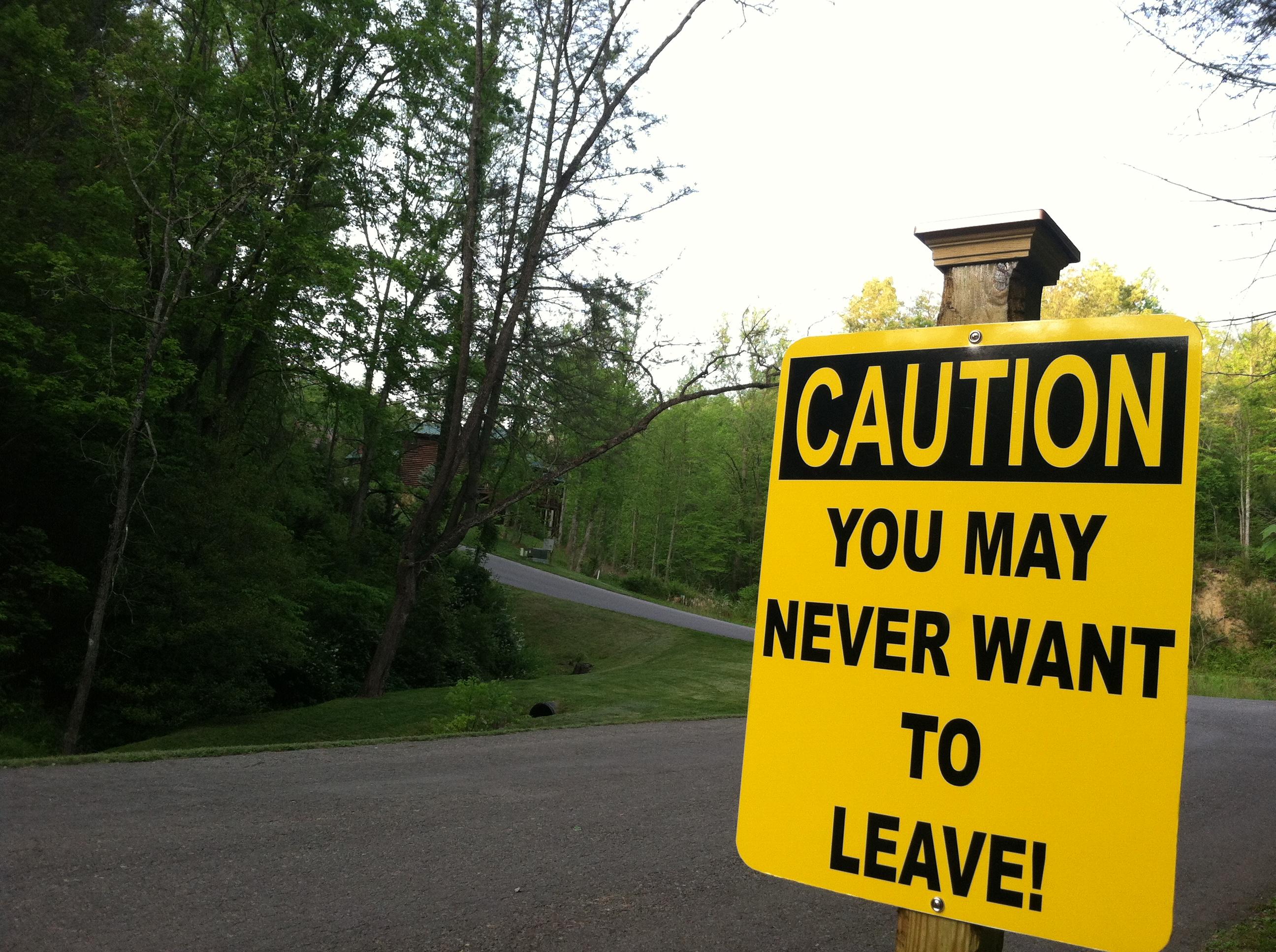 Gatlinburg Caution