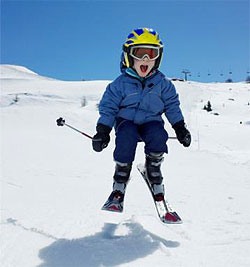 Gatlinburg Kids Skiing