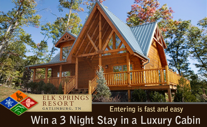 Elk Springs Resort Cabin Getaway Sweepstakes
