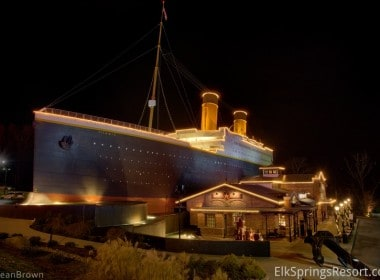 The Titanic Muesem in Pigeon Forge / Gatlinbu
