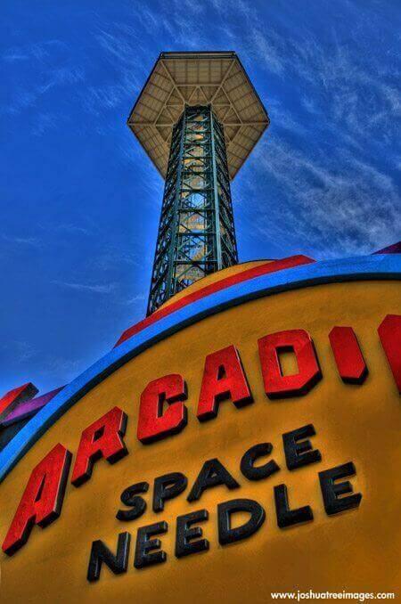 Space Needle with Arcadia