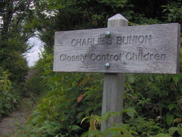 gatlinburg-hiking-charlies-bunion