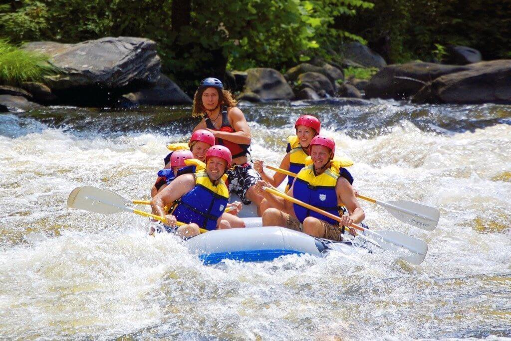 White Water Rafting Amp Kayaking In Gatlinburg Elk Springs