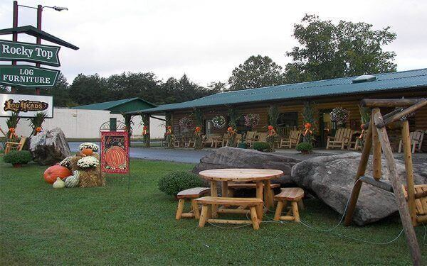 Americau0027s Largest Provider Of Quality Rustic Furnishings, Rocky Top Log  Furniture Is A Well Known Leader In The In Building Hand Crafted Log  Furniture ...