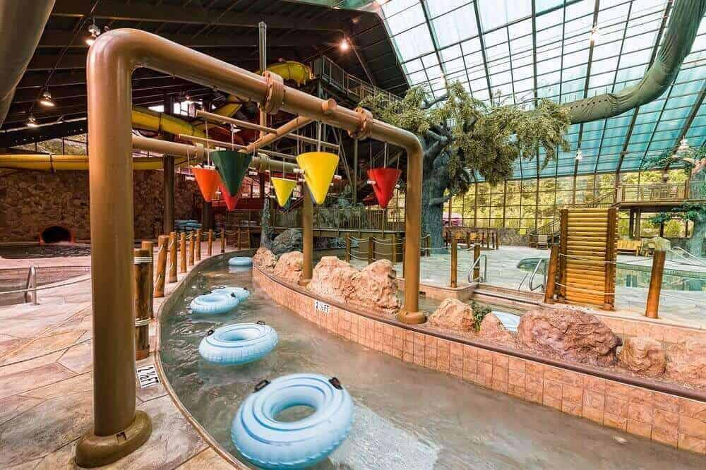 This All Season Indoor Water Park Can Be Enjoyed Rain Or Shine Year Round During Warmer Days Mountain Themed Even Features A State Of