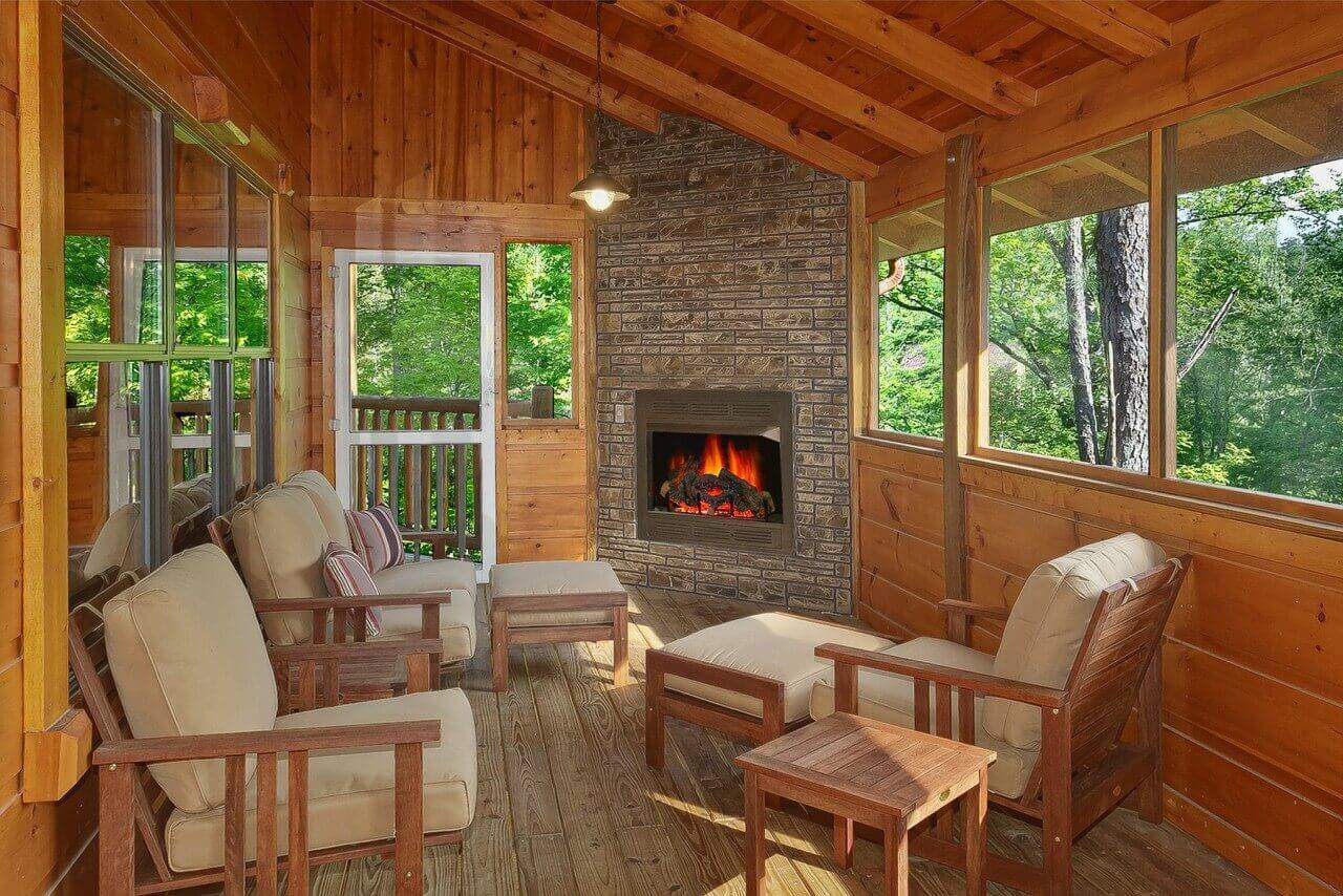 Four Seasons Cabin In Gatlinburg Elk Springs Resort