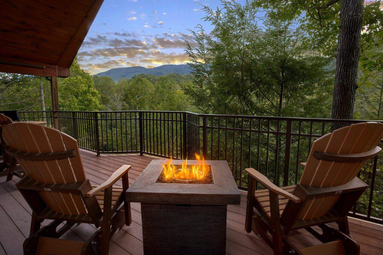 Mountain Hideaway Cabin In Gatlinburg Elk Springs Resort
