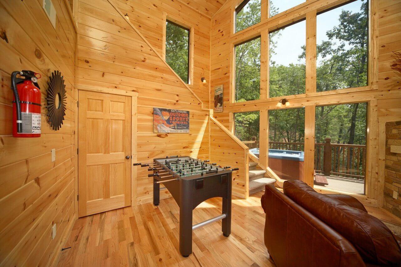 Snuggled Inn Cabin In Gatlinburg Elk Springs Resort