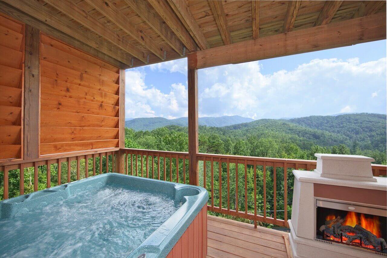 Whispering Creek Cabin In Gatlinburg Elk Springs Resort