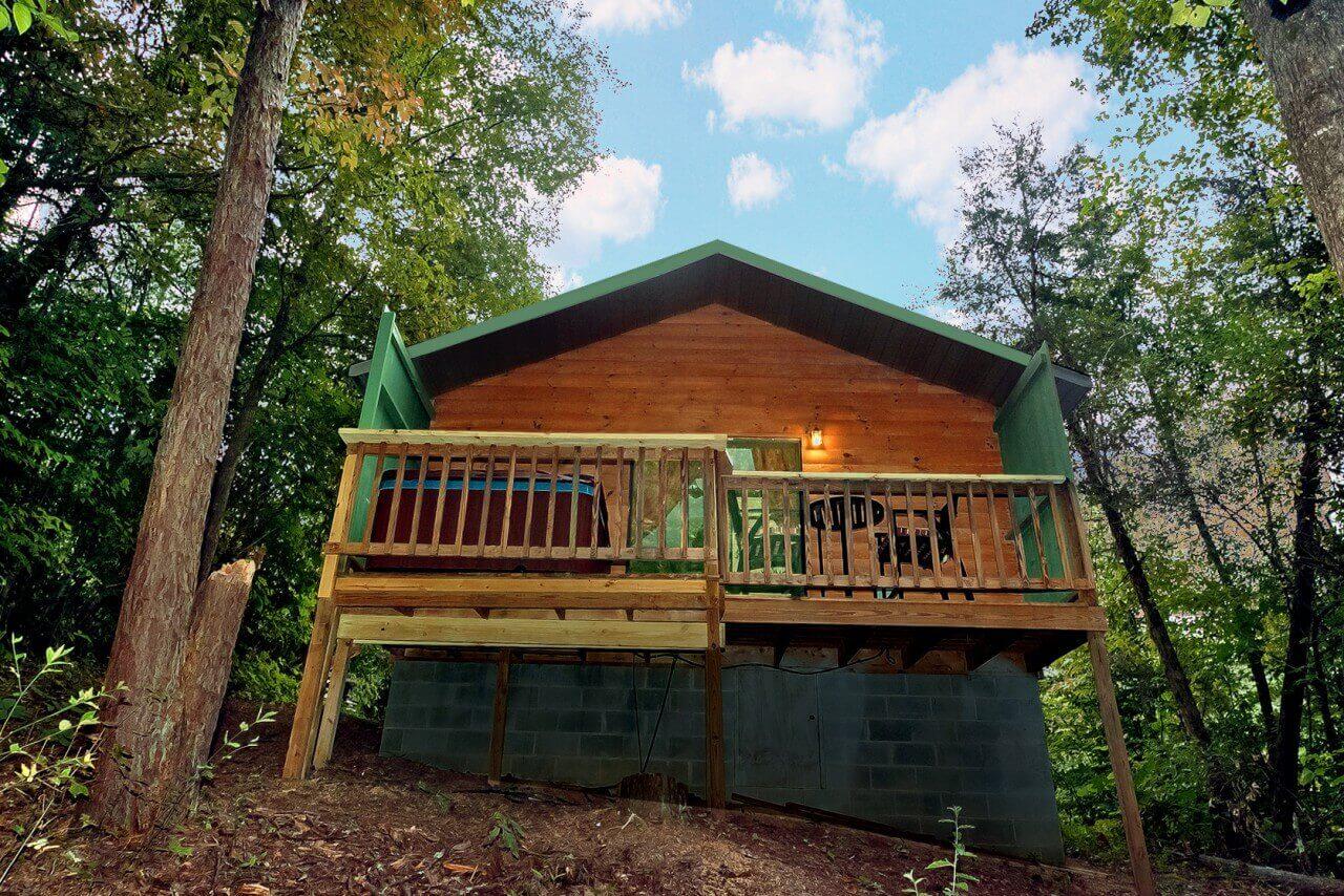 bear necessities cabin in pigeon forge elk springs resort
