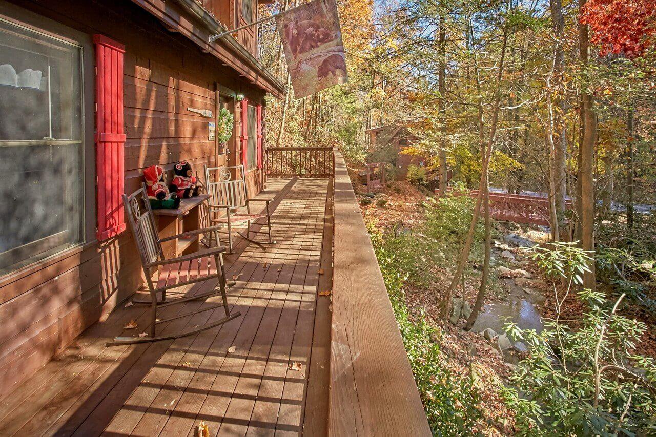 Cozy Creek Cabin In Gatlinburg Elk Springs Resort