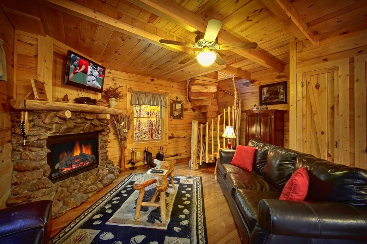 creekside hideaway cabin in wears valley elk springs resort