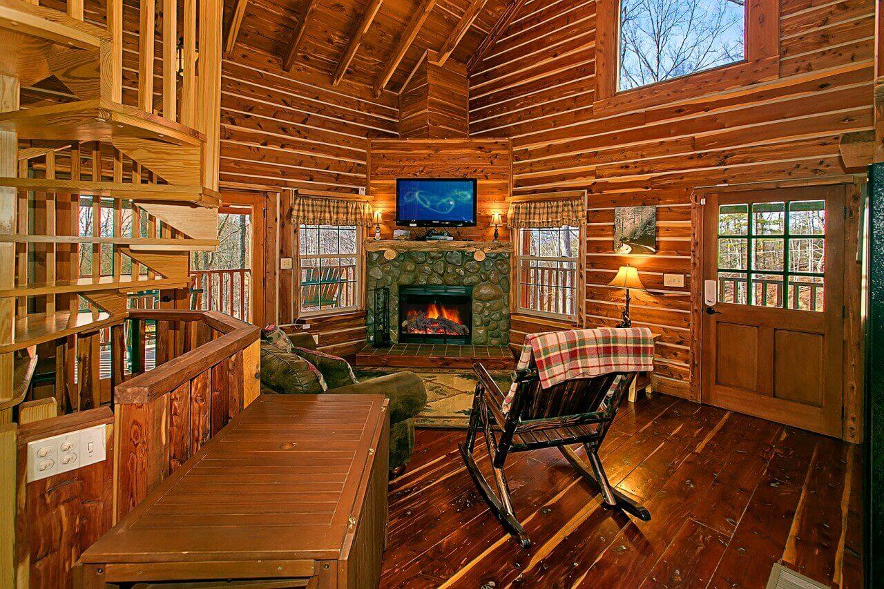 deer to my heart cabin in gatlinburg elk springs resort