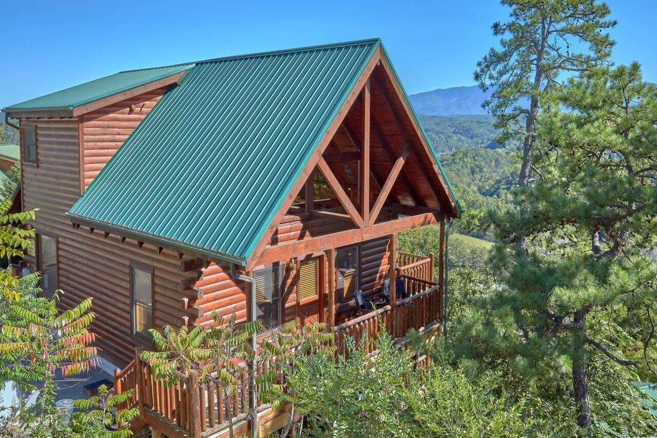3 Bedroom Cabin with Amazing View And Theater Room