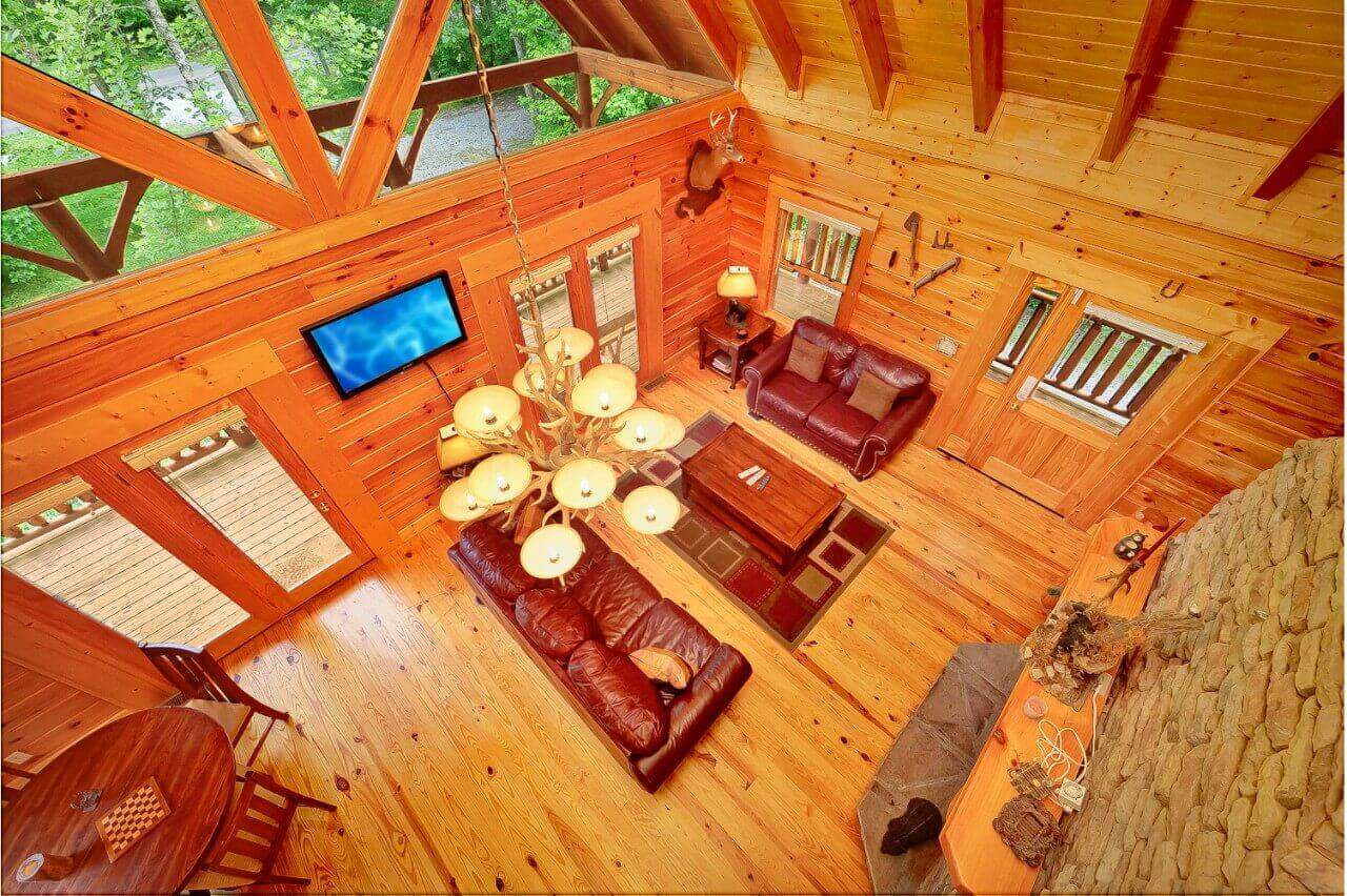 Magic moments cabin in gatlinburg elk springs resort for Gatlinburg craft show 2017