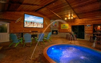 Mountain View Mansion Cabin In Gatlinburg Elk Springs Resort