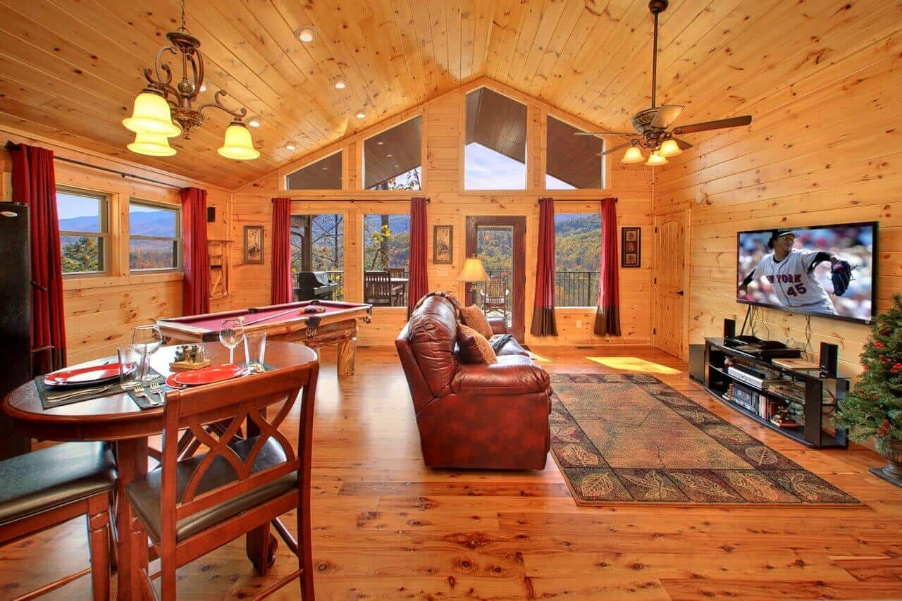 Mountain Elegance Cabin In Gatlinburg Elk Springs Resort
