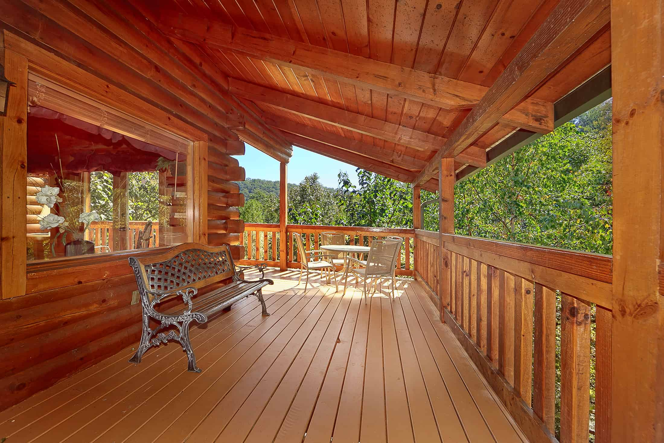 honeymoon log edited alan tn s mountain cabins chalet secluded gatlinburg mollys rentals cabin tennessee
